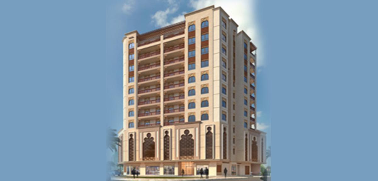 Hotel in Jaddaf – 2019, 2 Passenger Elevators (G+13)