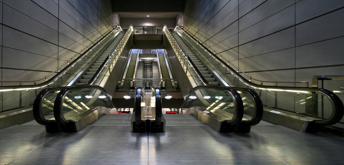 104 Escalators for Cairo Metro Line Phase 2, Egypt