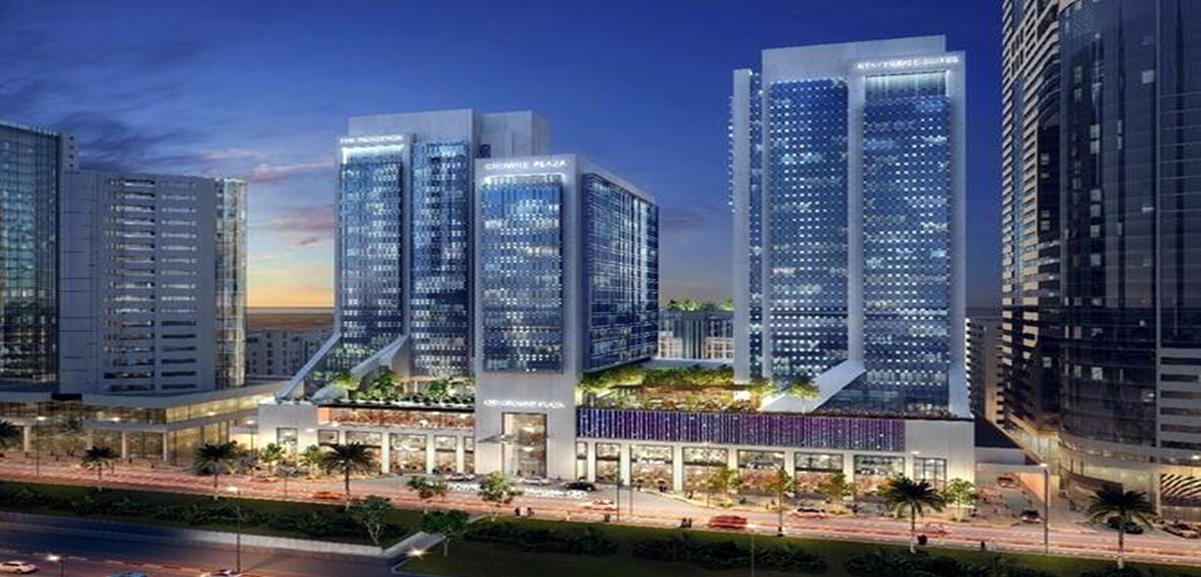 Crowne Plaza Hotel, Sheikh Zayed Road Dubai