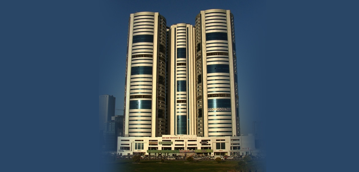 Bin Ham Towers, 12 Elevators, (G+29) Sharjah