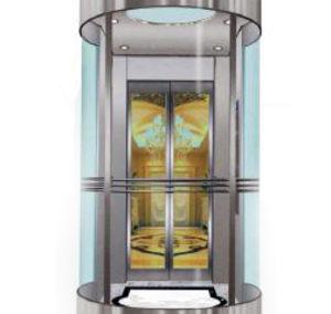 Hydraulic Panoramic Elevator (HDO OL)